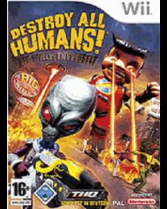 Jeu Destroy All Humans ! Lachez le Gros Willy pour Wii