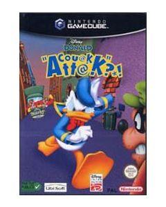 Jeu Disney Donald Couak Attak pour Game Cube