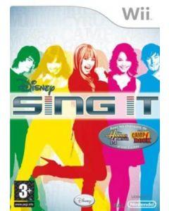 Jeu Disney Sing It pour WII