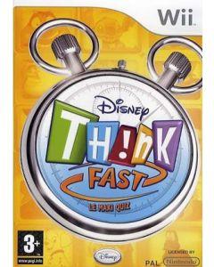 Jeu Disney Think Fast - Le maxi quiz pour WII