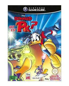 Jeu Donald qui est PK ? pour Game Cube