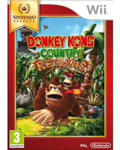 Jeu Donkey Kong Country Returns - Nintendo Selects pour WII