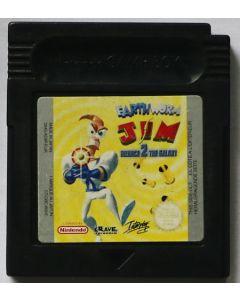 Jeu Earthworm Jim 2 Menace 2 the Galaxy pour Game Boy