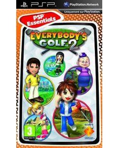 Jeu Everybody's golf 2 - Essentials pour PSP