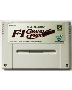 Jeu F1-Grand prix pour Super Famicom (JAP)