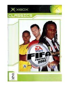 Jeu FIFA Football 2003 Classics pour Xbox