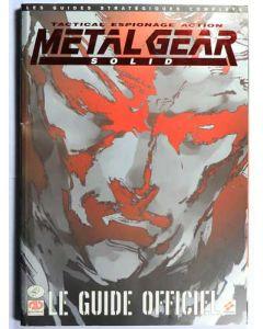 Guide officiel Metal Gear Solid Playstation 1