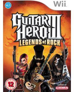 Jeu Guitar Hero 3 - Legends of Rock pour WII