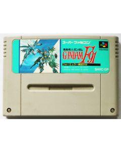 Jeu Gundam F91 pour Super Famicom (JAP)