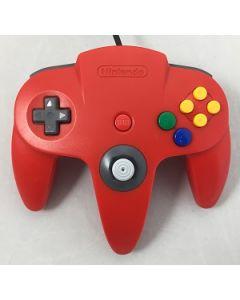 Manette officielle Nintendo 64 Rouge