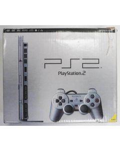 Console PS2 Slim satin silver en boîte