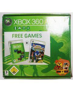 Console Xbox 360 en boîte