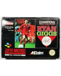 Jeu Champions World Class Soccer endorsed by Ryan Giggs pour Super Nintendo