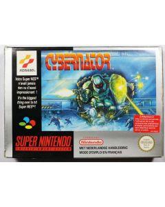 Jeu Cybernator pour Super Nintendo