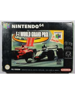 Jeu F1 World Grand prix 2 pour Nintendo 64