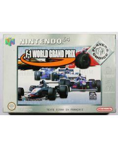 Jeu F1 World Grand Prix pour Nintendo 64