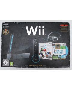Console Nintendo Wii Mario Noire en boîte
