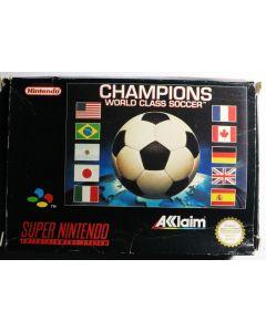 Champions World Class Soccer pour Super Nintendo