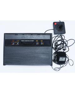 Console ATARI 2600 finition plastique noire