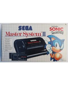 Console Master System 2 en boîte + Sonic (RF Switch)