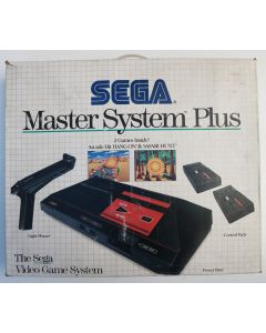 Pack Console Master System Plus Hang-on/Safari Hunt