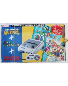 Pack console Super nintendo + Super mario World + Super mario All Stars