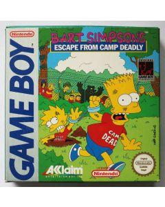 Jeu Bart Simpsons Escape From Camp deadly pour Game Boy
