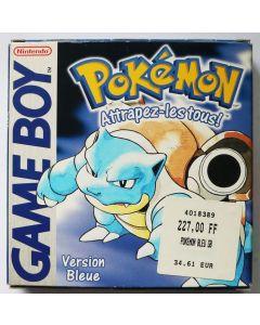 Pokémon version Bleue pour Game Boy