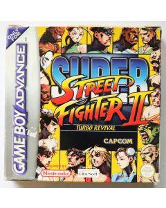 Jeu Super Street Fighter 2 pour Game Boy Advance