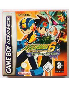 Jeu Megaman 6 Battle Network Cybeast Gregar pour Game Boy advance