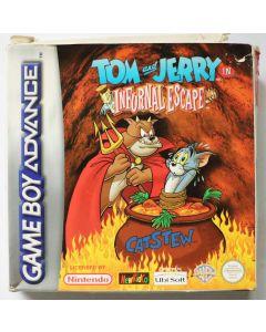 Jeu Tom and Jerry Infurnal Escape pour Game Boy Advance