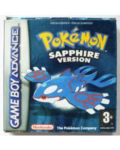 Jeu Pokémon version Saphir pour Game Boy Advance