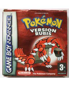 Jeu Pokemon version Rubis pour Game Boy Advance