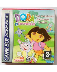 Jeu Dora l'exploratrice Les aventures des super étoiles pour Game Boy Advance