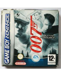 Jeu 007 Quitte ou Double pour Game Boy Advance