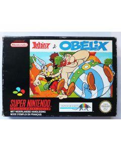 Jeu Asterix et Obelix pour Super nintendo