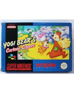 Jeu Yogi Bear's Cartoon Capers pour Super Nintendo