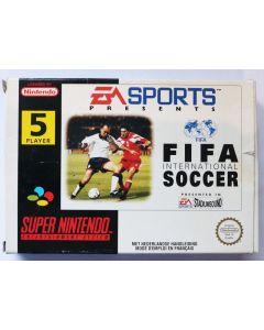 Jeu FIFA international Soccer pour Super Nintendo