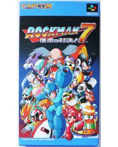 Jeu Rockman 7 / Megaman 7 pour Super Famicom