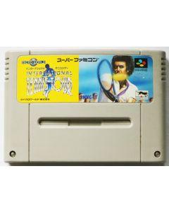 Jeu International Tennis Tour pour Super Famicom (JAP)