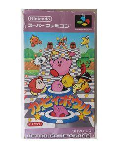 Jeu Kirby Bowl pour Super Famicom