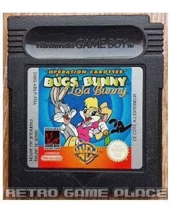 Jeu Bugs Bunny & Lola Bunny pour Gameboy