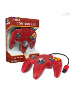 Manette Nintendo 64 Rouge
