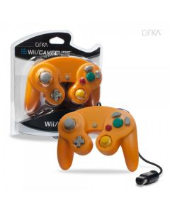 Manette Orange pour Wii/Gamecube