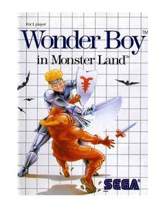 Wonder boy in Monster land Master System