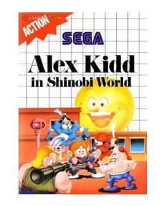 Alex Kidd in Shinobi world Master System