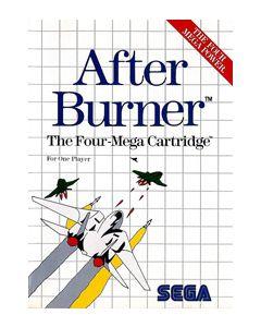 After Burner Master System