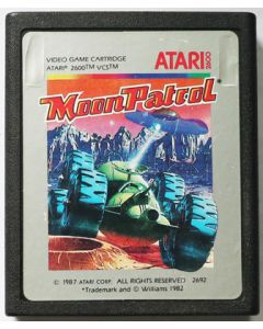 Jeu Moon Patrol pour Atari 2600