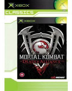 Jeu Mortal Kombat Deadly Alliance Classics pour Xbox