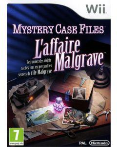 Jeu Mystery Case Files - L'Affaire Malgrave pour WII